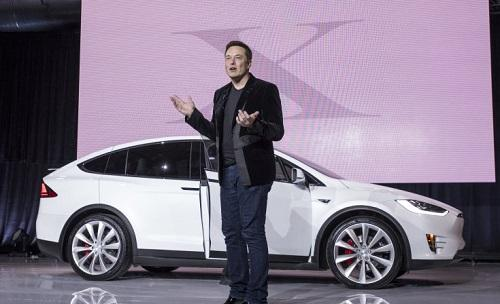 1.10 - Tesla's stock falls 13 percent over the weekend